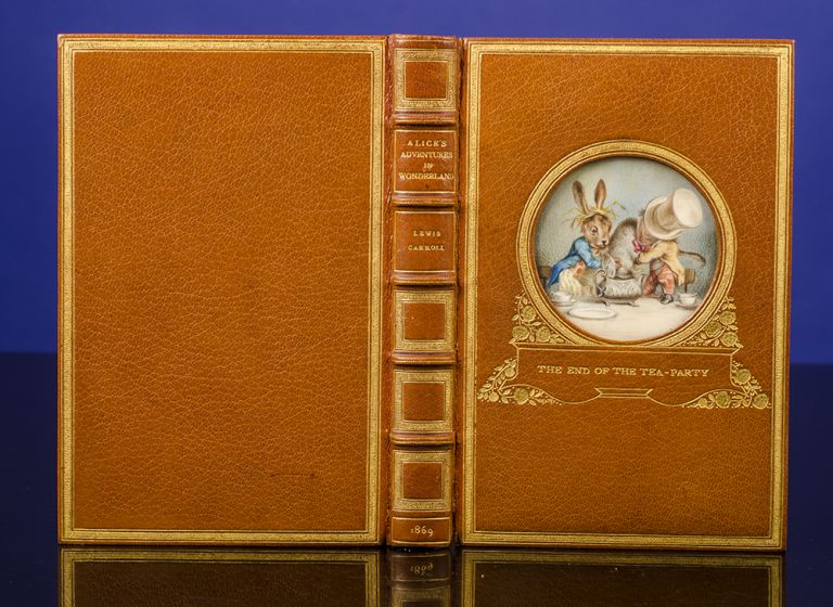 Alice's Adventures in Wonderland. COSWAY BINDING, Lewis CARROLL, Miss C. B. CURRIE, artist, RIVIÈRE, binders SON.