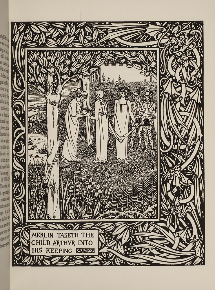 The Birth, Life, and Acts of King Arthur, of His Noble Knights of the Round Table, Aubrey BEARDSLEY, Sir Thomas MALORY, The BOYDELL PRESS.