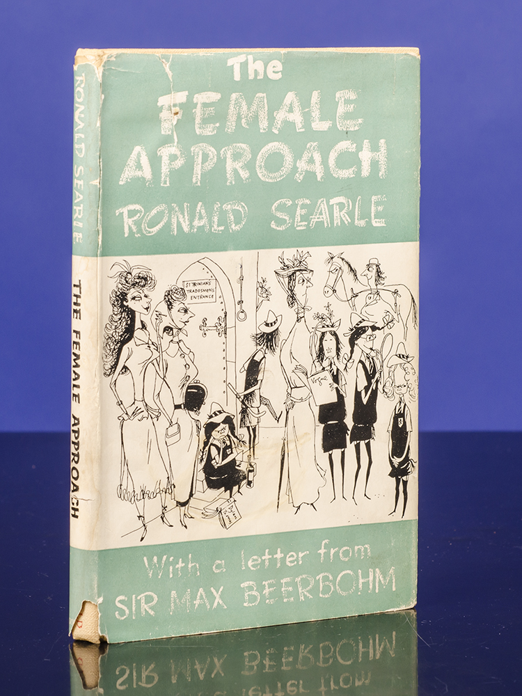 Female Approach, The. Ronald SEARLE, Max BEERBOHM.