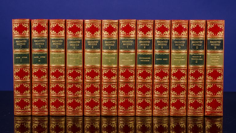 Novels of the Sisters Brontë. Charlotte BRONTE, Emily and Anne.