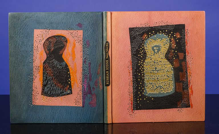 Russian Icons. Philip SMITH, binder, Tamara Talbot RICE.