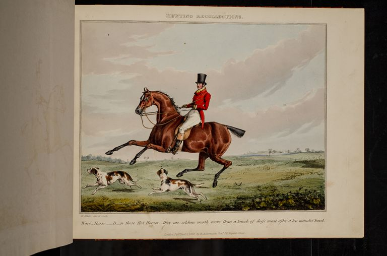 Hunting Recollections. Henry ALKEN.