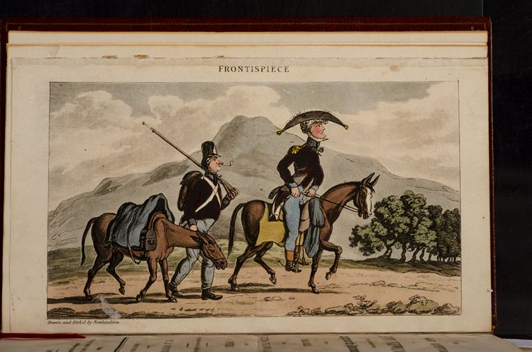 Military Adventures of Johnny Newcome, The. Thomas ROWLANDSON, Lt. Col. David ROBERTS.