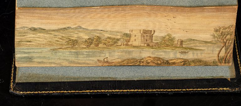 The Poetical Works of Sir Walter Scott, Bart. FORE-EDGE PAINTING, Sir Walter SCOTT.