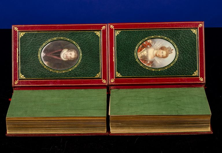 First of the Bourbons 1589-1595 [&] 1595-1610. COSWAY-STYLE BINDING, binder BAYNTUN, Lady Catherine Charlotte JACKSON.