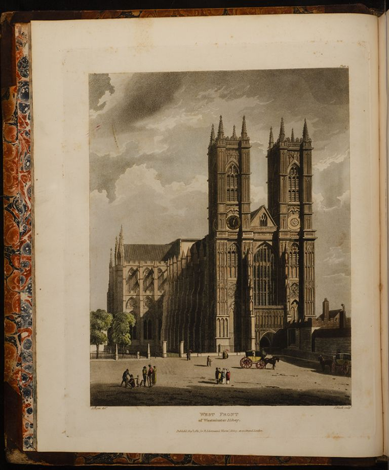 History of the Abbey Church of St. Peter's Westminster. Rudolph ACKERMANN, William COMBE.