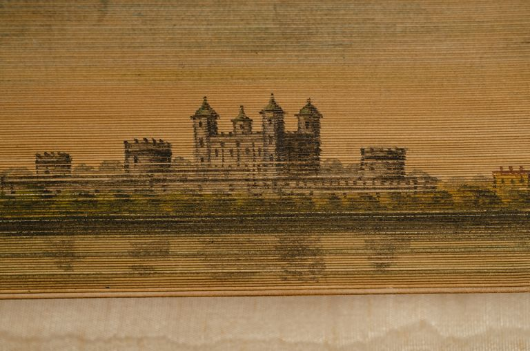Sesame and Lilies: Three Lectures. FORE-EDGE PAINTING, binder RAMAGE, John RUSKIN.