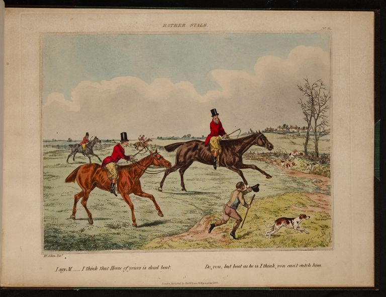 [Thoughts While Fox Hunting]. Henry ALKEN.