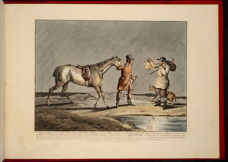 Sporting Discoveries, or The Miseries of Hunting in a series of seven plates, Henry ALKEN.
