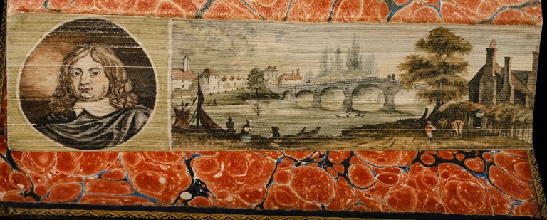 Lives of the most Eminent English Poets:, The. FORE-EDGE PAINTING, Helen HAYWOOD, artist, Samuel JOHNSON.