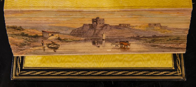 Marmion: A Tale of Flodden Field…. FORE-EDGE PAINTING, Sir Walter SCOTT.