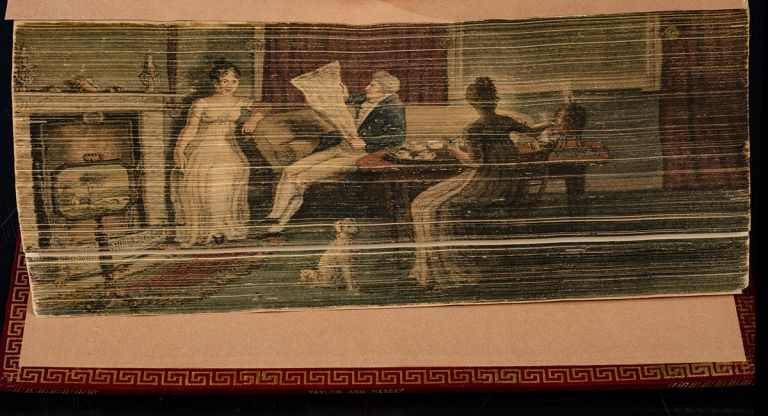 Poems by William Cowper, FORE-EDGE PAINTING, TAYLOR, binder HESSEY, William COWPER.
