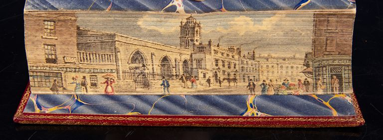The New Whole Duty of Man, FORE-EDGE PAINTING, Joseph Clayton CLARKE, Richard ALLESTREE.