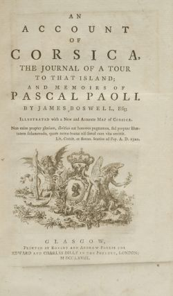 Account of Corsica, An