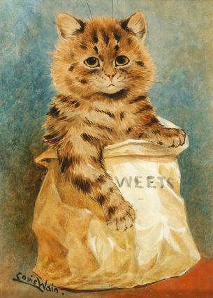 """Mixed Sweets"". Louis WAIN, Artist."