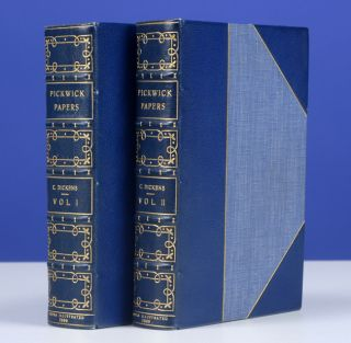 Posthumous Papers of the Pickwick Club, The. Charles DICKENS, Charles Dickens, the Younger, Bayntun.