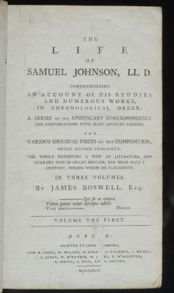 Life of Samuel Johnson, LL.D., The