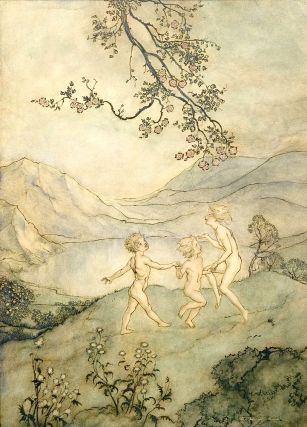 """Paradise of Children, The"". Arthur RACKHAM."