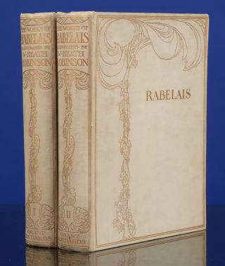 Works of Mr. Francis Rabelais, The. W. Heath ROBINSON, illustrator, François Rabelais.