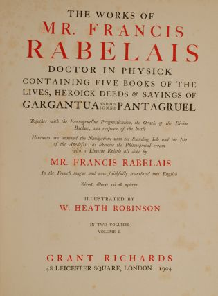 Works of Mr. Francis Rabelais, The