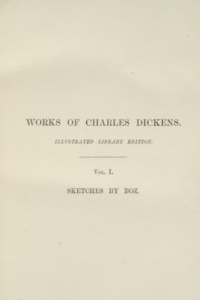 Works of Charles Dickens [Illustrated Library Edition]