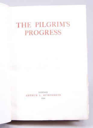 Pilgrim's Progress, The. John BUNYAN, Bayntun