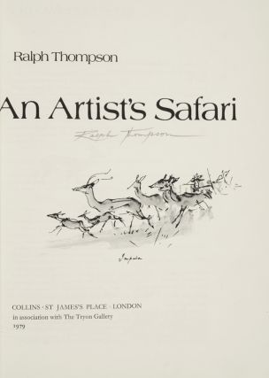 Artist's Safari, An. binder ZAEHNSDORF, Ralph Thompson