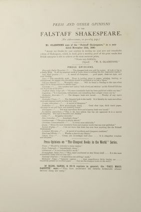 """Critical Examination of Dr. G. Birkbeck Hill's """"Johnsonian"""" Editions issued by the Clarendon Press, Oxford, A"""
