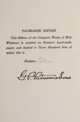 Complete Writings [Paumanok Edition], The