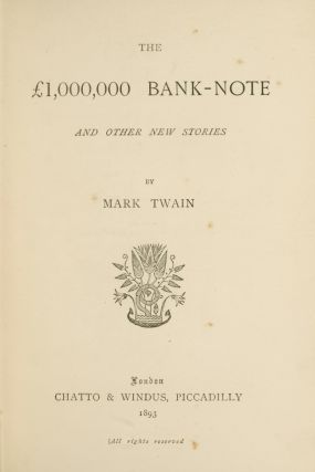 £1,000,000 Bank Note, The