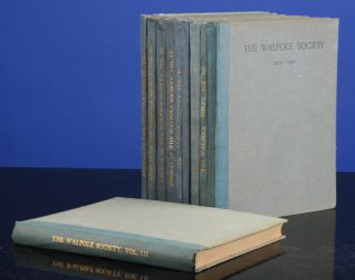 Walpole Society. Annual Volumes 1 - 26, The