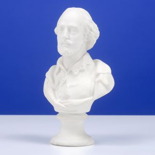 Parian Bust. William SHAKESPEARE.