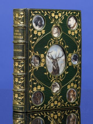 Sir Edwin Landseer R.A. COSWAY-STYLE BINDING, James A. MANSON, RIVIÈRE, SON.