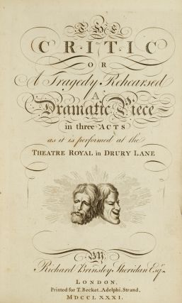 Critic, The. Richard Brinsley SHERIDAN, J. J. ROUSSEAU