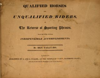Qualified Horses and Unqualified Riders,