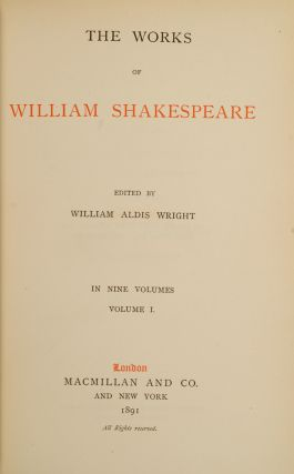 [The Cambridge Shakespeare]. The Works of Shakespeare