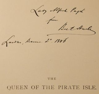 Queen of the Pirate Isle, The. Kate GREENAWAY, illustrator, Bret HARTE.