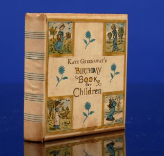 Kate Greenaway's Birthday Book For Children. Kate GREENAWAY.