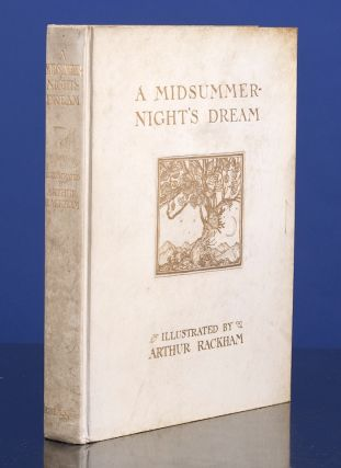 Midsummer-Night's Dream, A. Arthur RACKHAM, illustrator, William Shakespeare.