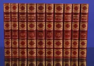 Novels of Henry Fielding, The. Henry FIELDING, SHAKESPEARE HEAD PRESS