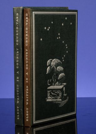 Elegy Written in a Country Church-Yard. LIMITED EDITIONS CLUB, Thomas GRAY, Agnes Miller PARKER, illustrator.