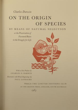 On The Origin Of Species By Natural Selection