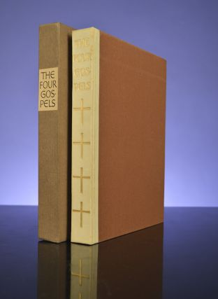 Four Gospels, The. LIMITED EDITIONS CLUB, BIBLE IN ENGLISH, Bruce ROGERS, designer, Emil Rudolf WEISS, designer-decorator.