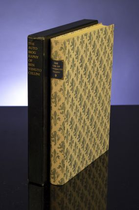 Life of Benvenuto Cellini Written By Himself, The. LIMITED EDITIONS CLUB, Benvenuto CELLINI, Fritz KREDEL, illustrator.