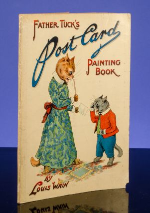 Father Tuck's Post Card Painting Book. Louis WAIN