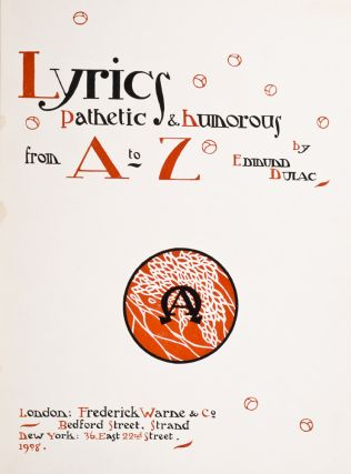 Lyrics Pathetic & Humorous from A to Z