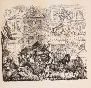 Cruikshank's Trip To Greenwich Fair