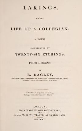 Takings; Or, The Life of a Collegian