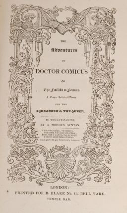 Adventures of Doctor Comicus or The Frolicks of Fortune