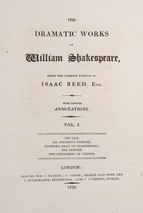 Dramatic Works of William Shakespeare, The